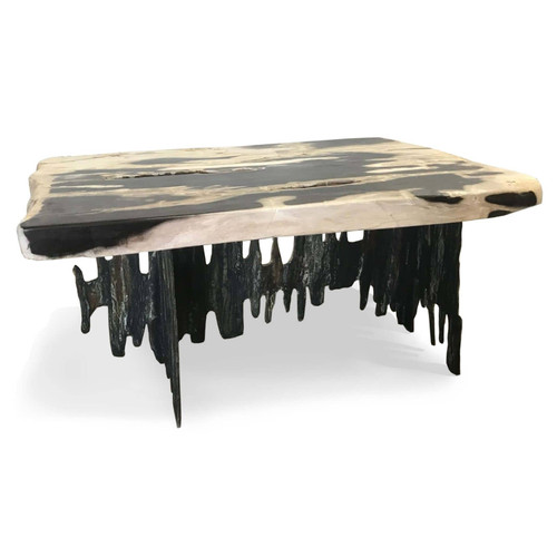 Fishbone End Table