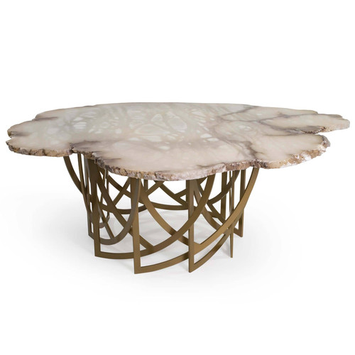 Cocktail Alabaster Table