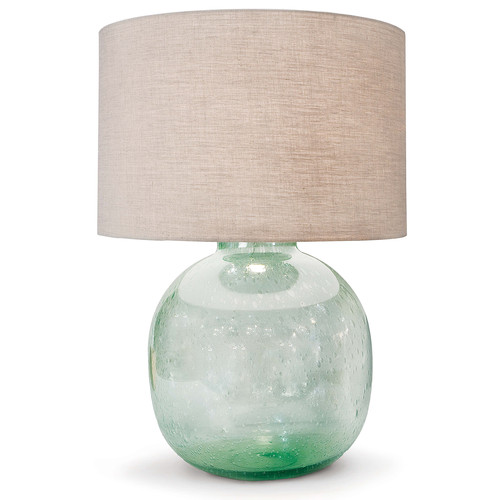 Seeded Recycled Glass Table Lamp