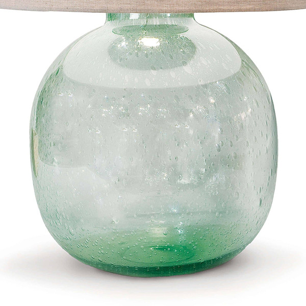 Seeded Recycled Glass Table Lamp Regina Andrew