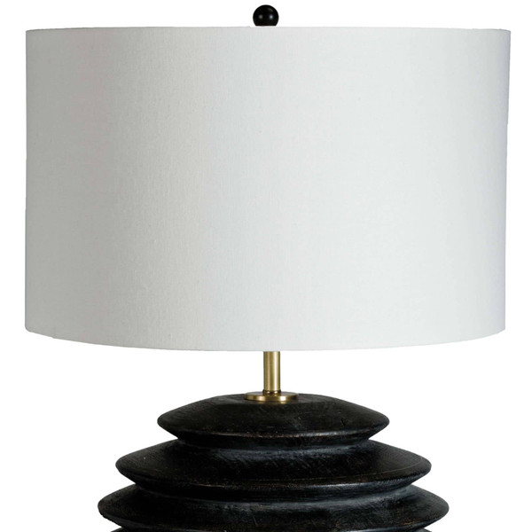Accordion Table Lamp Round
