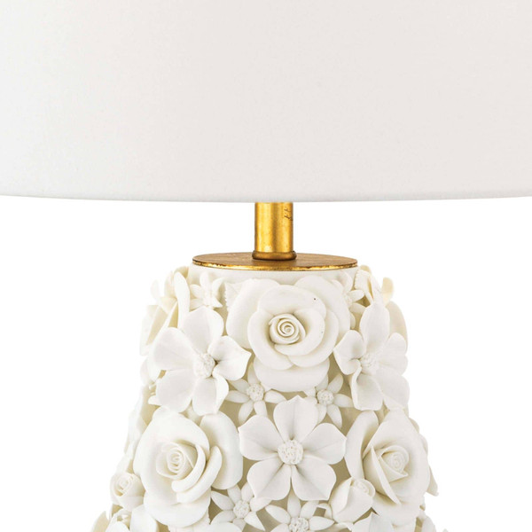 Alice Porcelain Flower Table Lamp
