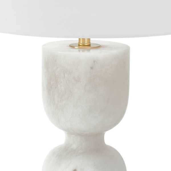 Joan Alabaster Table Lamp Large