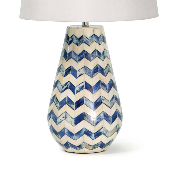 Cassia Chevron Table Lamp