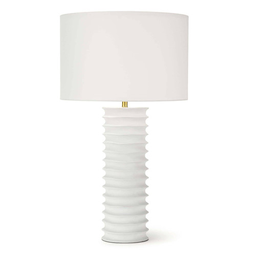 Nabu Metal Column Table Lamp