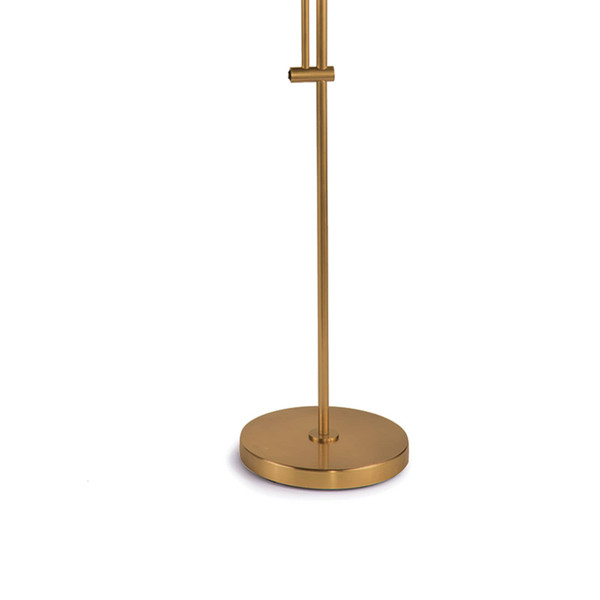 Arc Floor Lamp With Metal Shade