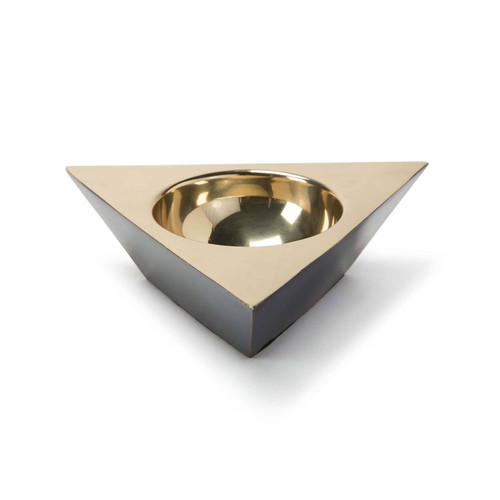 Metal Triangle Dish