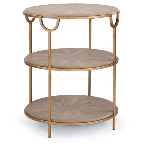 Vogue Shagreen Side Table