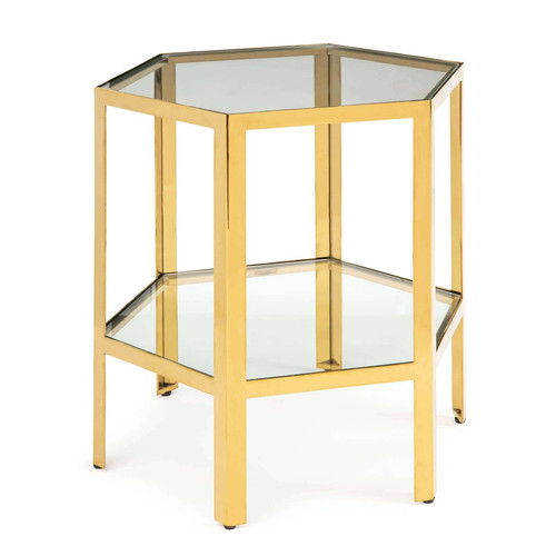 Quadrum Table Large (Gold)