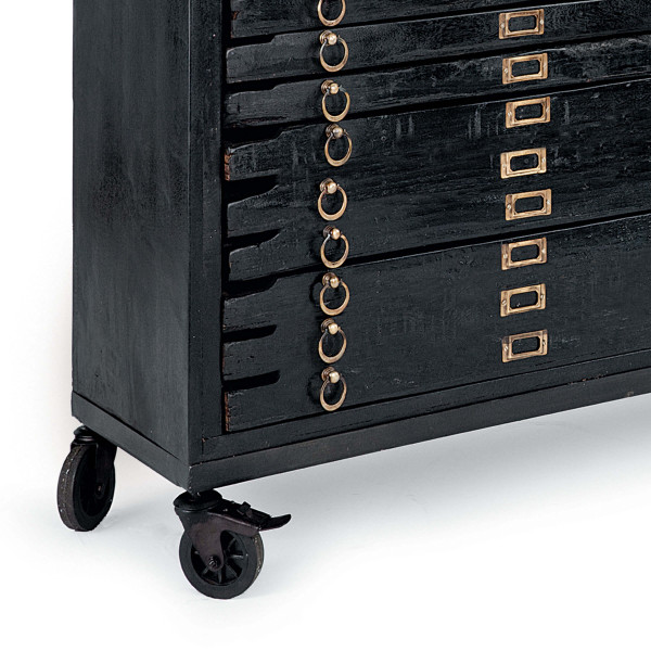 Printmakers Console 12 Drawers