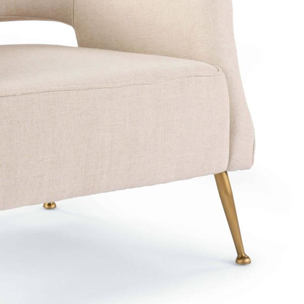 Mimi Linen Chair Regina Andrew