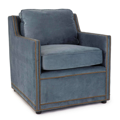Posh Velvet Chair
