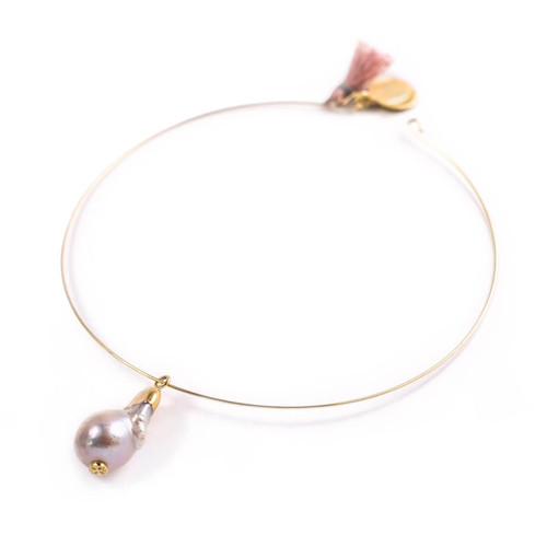 Maci Mother of Pearl Choker
