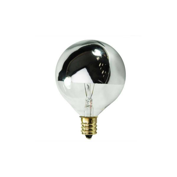 Silver Dipped Globe Bulb Regina Andrew
