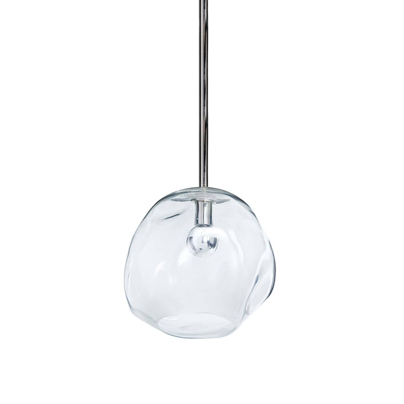 Molten Pendant Large with Clear Glass